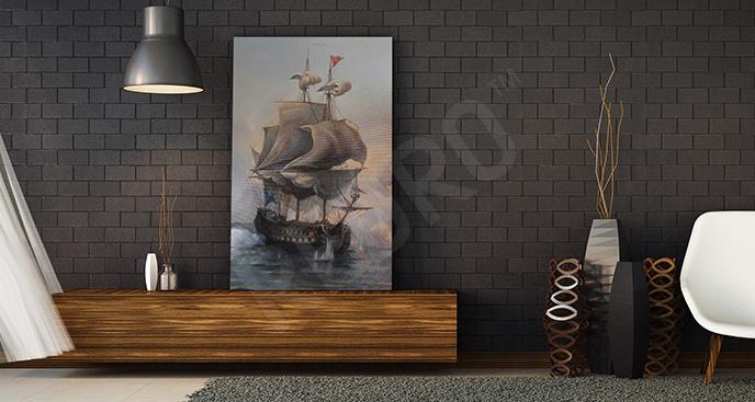 Obraz statek żaglowy