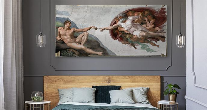 Obraz Stworzenie Adama