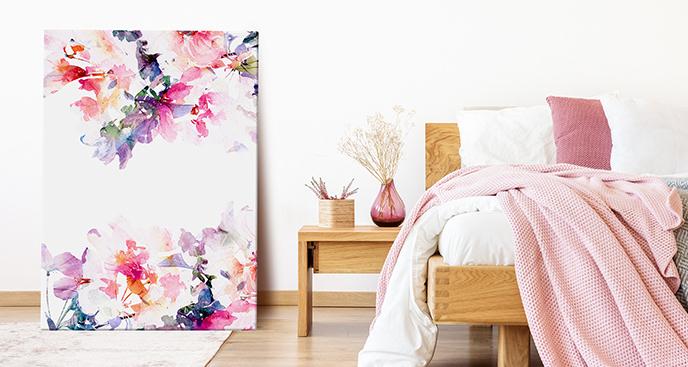 Obraz styl floral