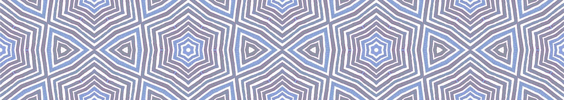 Obraz styl skandynawski w geometryczny deseń