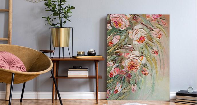 Obraz stylizowany na malarstwo olejne