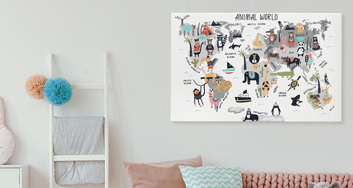 Obraz świat zwierząt