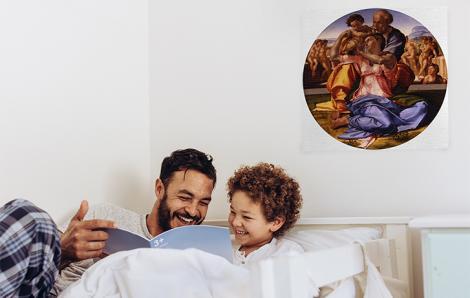 Obraz Święta Rodzina z małym św Janem