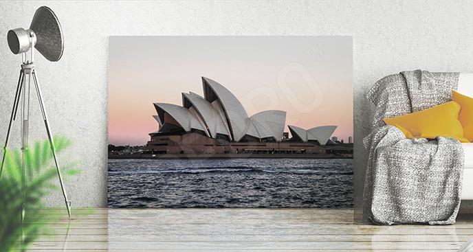 Obraz Sydney o zachodzie słońca