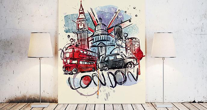 Obraz symbole Londynu