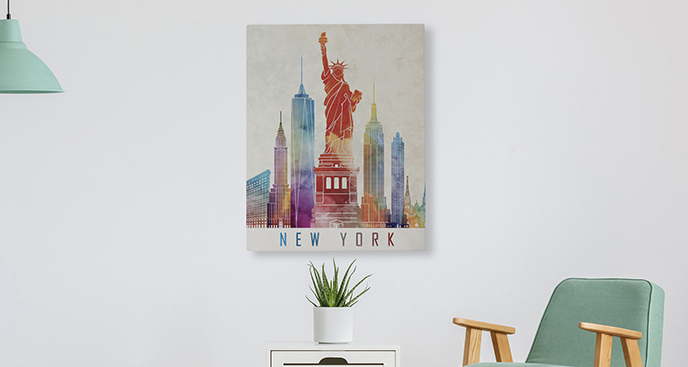 Obraz symbole Nowego Jorku