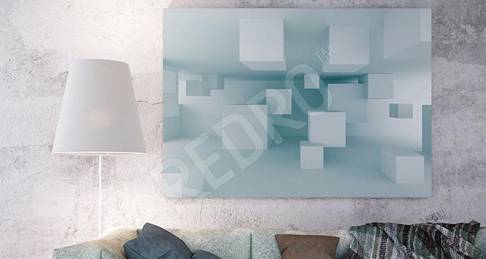 Obraz sześciany 3D