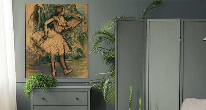 Obraz Tancerka z wachlarzem