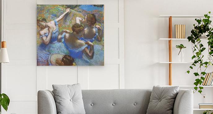 Obraz Tancerki w błękicie