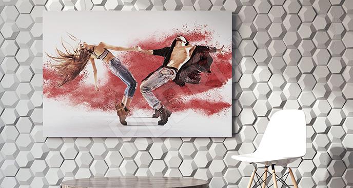 Obraz tancerze do pokoju nastolatka