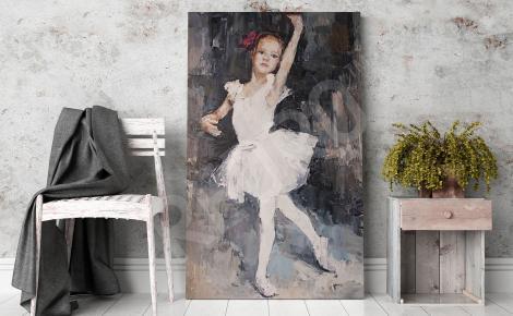 Obraz tańcząca baletnica