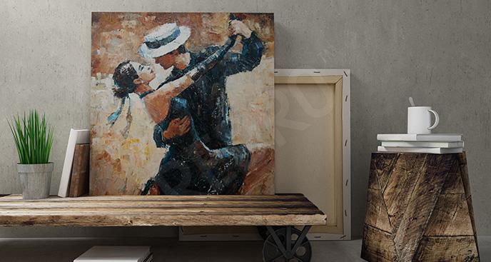 Obraz tańcząca para