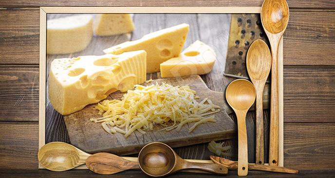 Obraz tarty ser - do kuchni