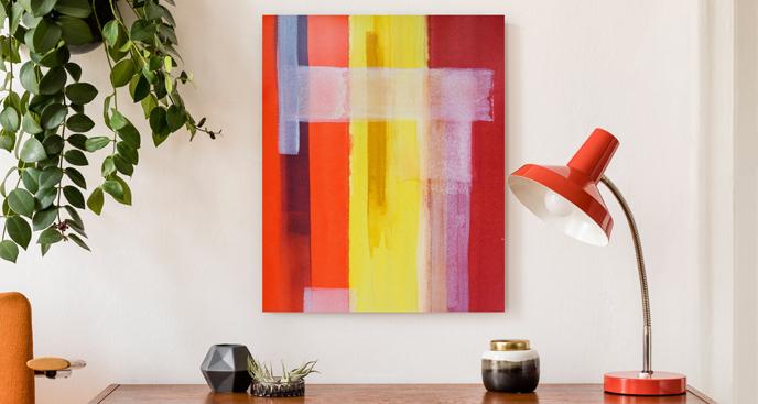 Obraz tęczowe kolory