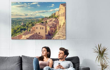 Obraz Toskania do salonu