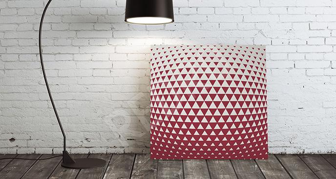 Obraz trójkąty 3D