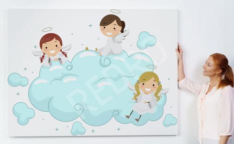 Obraz trzy aniołki