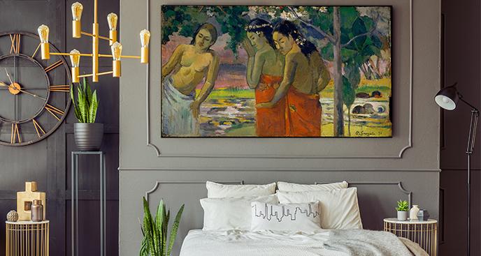 Obraz Trzy tahitańskie kobiety