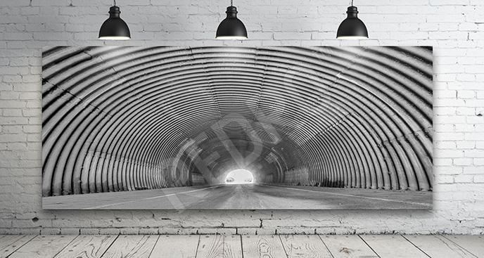 Obraz tunel miejski