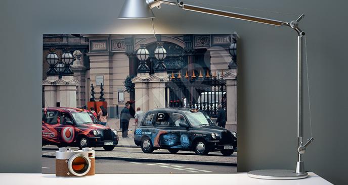 Obraz ulica w Londynie