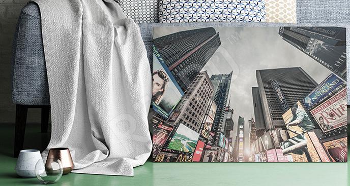 Obraz ulice na Times Square