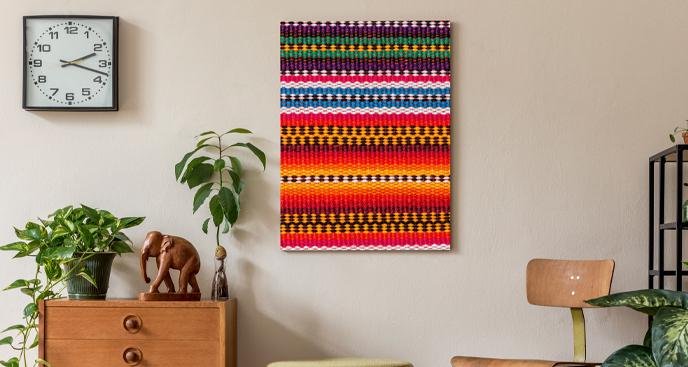 Obraz w stylu afrykańskim