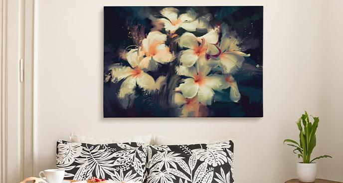 Obraz w stylu floral