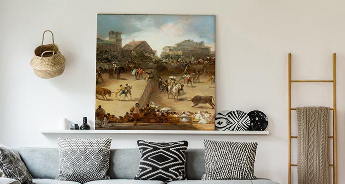 Obraz Walka byków