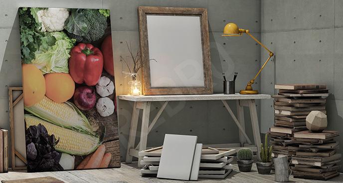 Obraz warzywa 3d