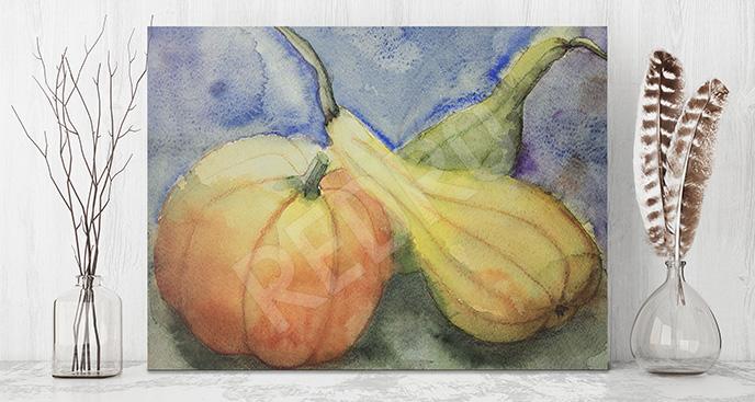 Obraz warzywa dyniowate