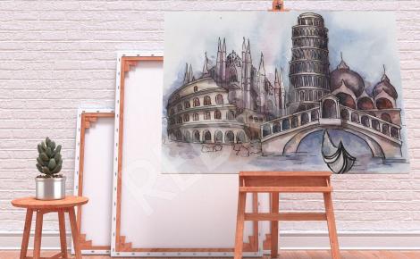 Obraz Wenecja architektura