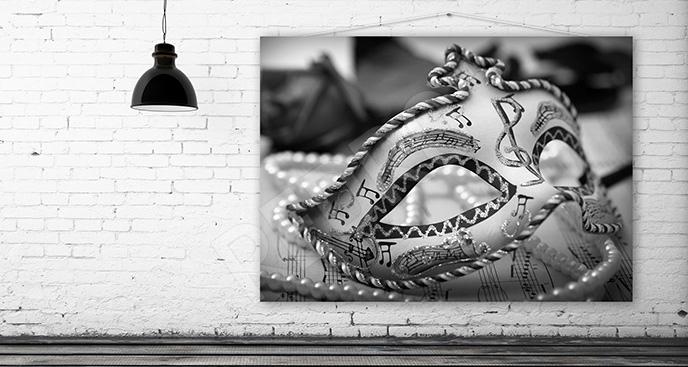 Obraz Wenecja: maska karnawałowa