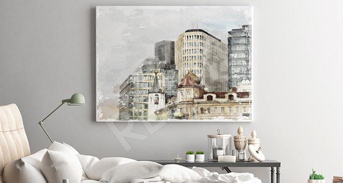 Obraz widok metropolii