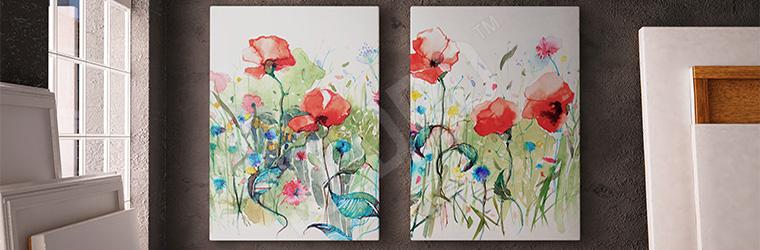 Obrazy Abstrakcja Kwiaty Obrazy Fototapety Naklejki Plakaty
