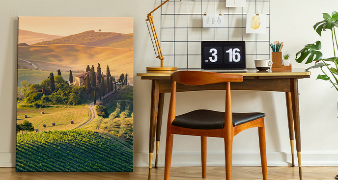 Obraz Toskania latem
