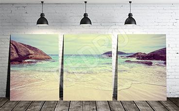 Obraz z krajobrazem morskim