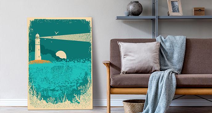 Obraz z morskim motywem
