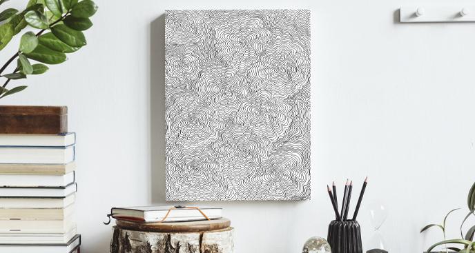 Obraz z motywem drewna