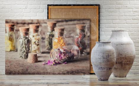Obraz z ziołami do jadalni