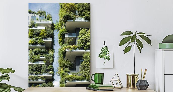 Obraz architektura przyszłości