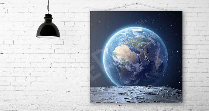 Obraz Ziemia 3d