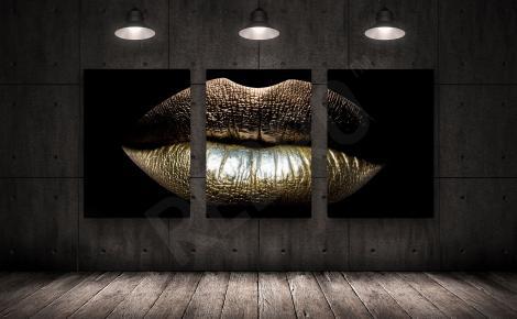 Obraz złote usta