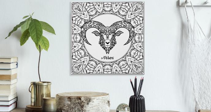 Obraz znaki zodiaku Baran