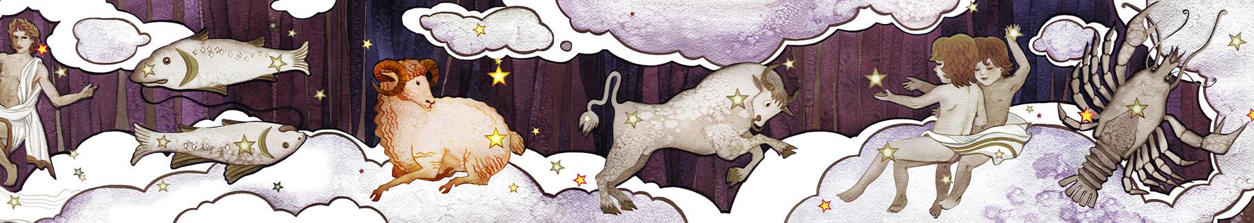 Obraz znaki zodiaku horoskop