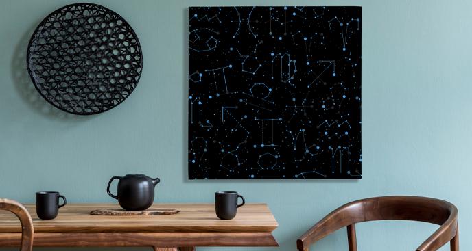 Obraz znaki zodiaku w konstelacji