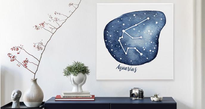 Obraz znaki zodiaku akwarela