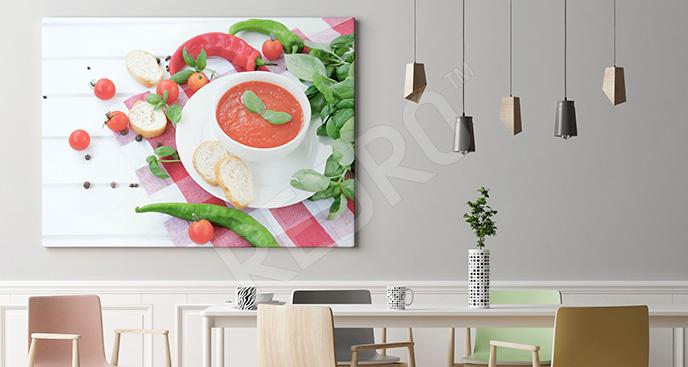 Obraz zupa krem