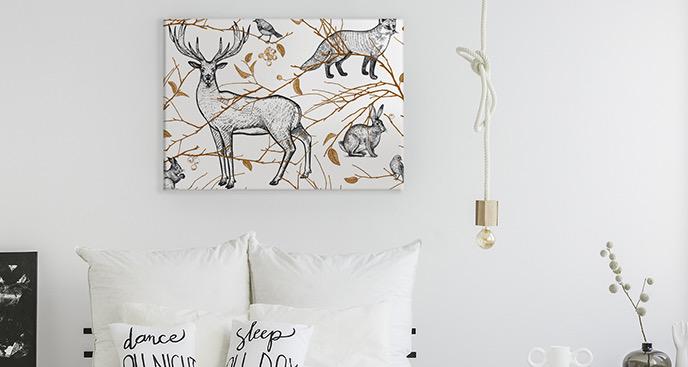 Obraz zwierzęta: biały tygrys