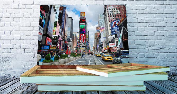 Obraz życie w Nowym Jorku