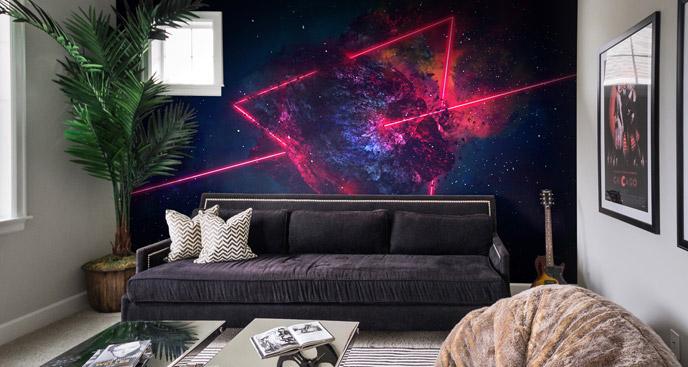 Oryginalna fototapeta kosmos